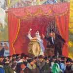 The Russian Fairground and its association with Russian art and theatre
