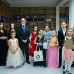 """Music is a Great Leveller""– HRH Prince Michael of Kent at the 'Gryphon Young Musician Award 2019' in Moscow."